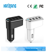 Wholesale 4 Port 5.2A USB Car Charger, Multi Phone Charger For Adroid