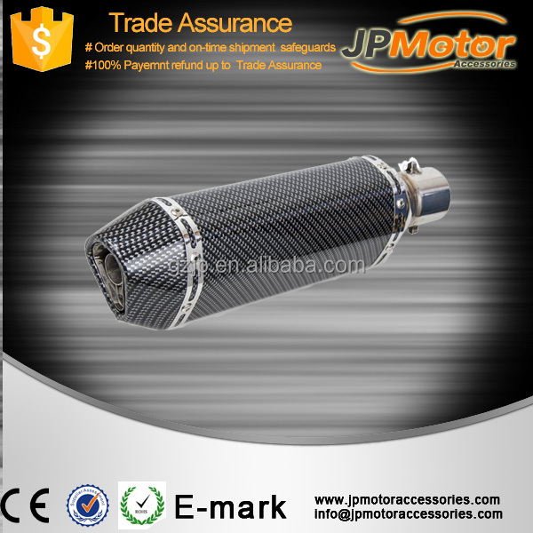 guangzhou motorcycle accessories, stainless steel silencer for bikes
