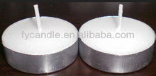 Bulk whole sale candle holder tea lights insert / cheap tealight candle
