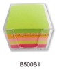 advertising memo cube for promotional gift with logo printed