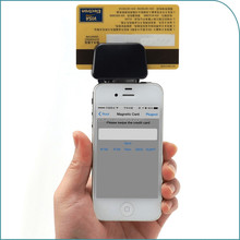 Smallest Mobile Credit Card Reader for Magnetic stripe card with free sdk