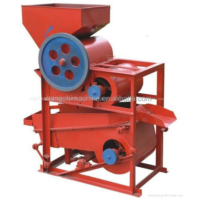 High output and efficiency peanut shelling machine/peanut husk