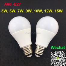 Led Bulb Light 360 Degree Beam Angle SMD 2835 3W 5W 6W 7W 9W 12W E27 A45 A55 A60 AC85-265V Ceramic Led Bulb