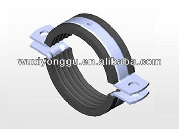 EPDM Rubber profile for Pipe clamps