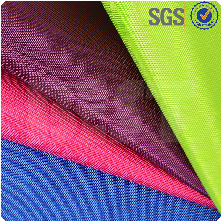 Luggage bags material waterproof solid dyed oxford fabric 1000d cordura