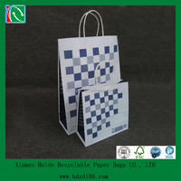 2016 WCA certified durable printed shopping bags