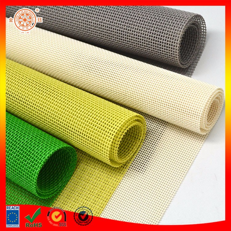 PVC woven mesh fabric curtain vertical blind fabric pvc coated fabric