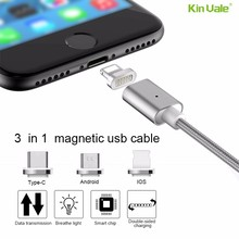 Kinvale multi function 1m magnetic charging cable usb,magnetic charger adapter usb cable for sony z2 z1