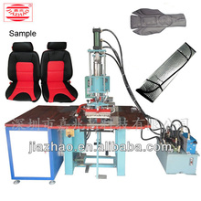 Oil pressure pedal type high frequency welding forming machine for sun visor,auto leather chair