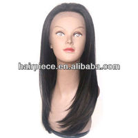 Hot selling curly human hair lace front wig, natural straight human hair wig, full lace wig