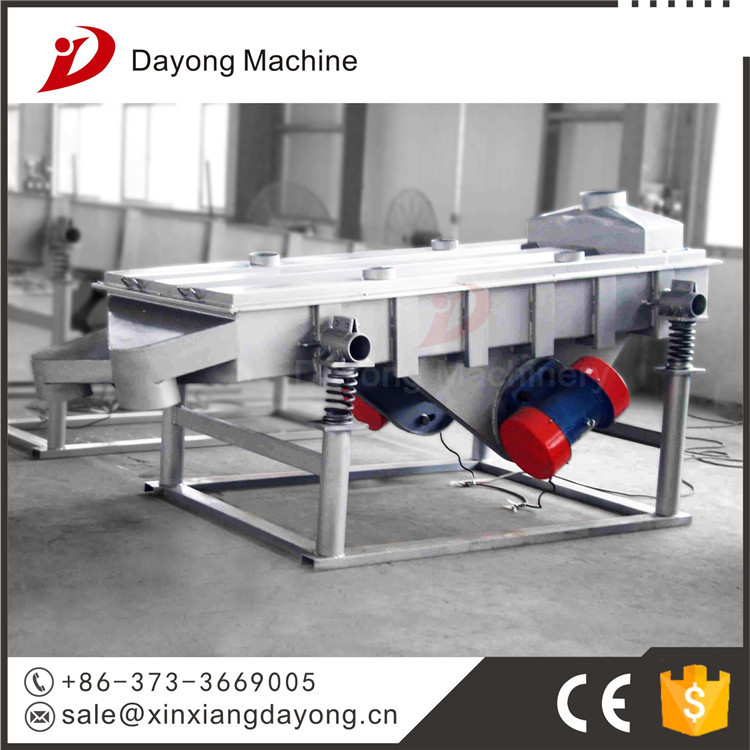 DY stainless steel linear square vibrating screen