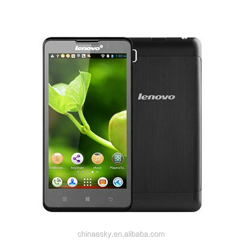 "P780 Lenovo Cell Phones MTK6589 Quad Core 5"" 1280x720 Android 4.4 Gorilla Glass1280x720 1GB RAM 8.0MP 4000mAh Battery"