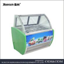 factory price cheap new product ice cream refrigerator