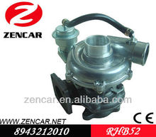 Isuzu turbocharger for Trooper 8943212010