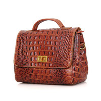 C002B JMD Genuine Leather Lady Satchels Bag For Women Sling Bag Manufacturer