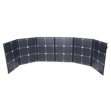 1750*300mmSize and PET EVA TPT and Sunpower Cell Material folding solar panel