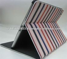 For new iPad 3/new ipad Magnetic PU Leather Case Smart Cover Stand wake/sleep