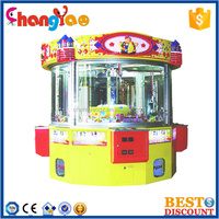 Crane Claw Machine For Sale 4 Seats Vending Castle Hot Sale Toys Game