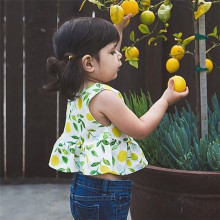 INS780-1 soft cotton wholesale printed sleeveless infant baby dresses