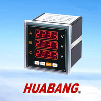RS485 MODBUS three phase digital Voltage panel meter