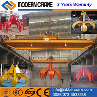 claw crane machine , EOT claw crane 5 ton-30 ton ,overhead crane with claw