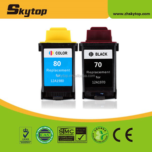 12A1970 Black Ink Cartridge for Lexmark X73 X83 X84 X85 Z11 Z31 Z41 Z42 Z43