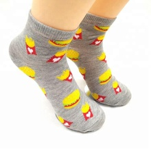 Made In China 100% Polyester 3d Cartoon Tube Cheap Food Socks