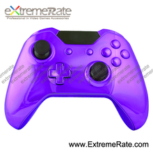 Polished Custom Components Chorme Purple Controller Shell For Xbox One Housing WithDpad D-pad Joystick Buttons