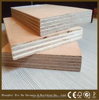 high gloss white OAK melamine MDF & wood timber for construction