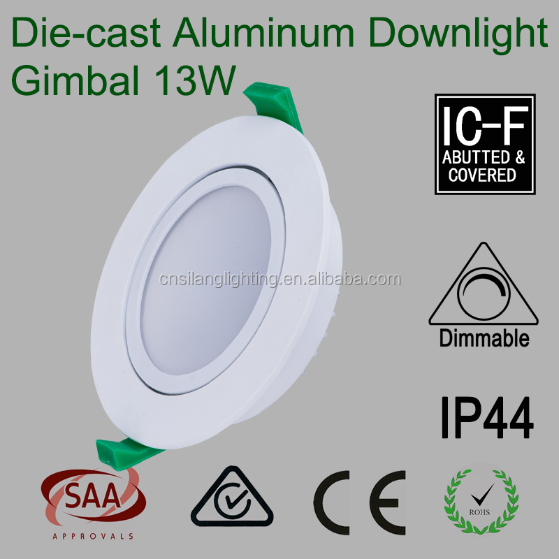 3 inch Classic Recessed Led Downlight with Die-cast Aluminum Fitting