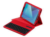Leather Stand Cover Case with Removable Wireless Bluetooth Keyboard For Samsung Galaxy Tab s3 9.7