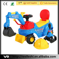 Best selling for children ride on mini excavator,battery operated ride on excavator
