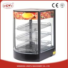 Chuangyu Unique New Arrival Model Automatic Fried Chicken Food Display Warmers