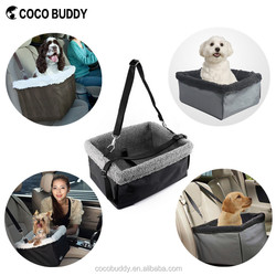 Multi-function durable Waterproof polyester oxford dog car booster seat carrier bag auto travel for pet