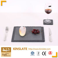 hot service tableware and dinner natural slate plate
