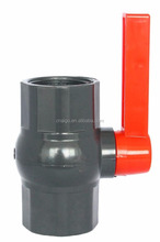 Chinese supplier dn50 motorized pvc 2-way ball valve operated by mini motor with good price and performance