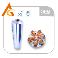 manufacture aluminum foil wrapper in color box for packaging