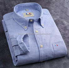 Famous brand mens new model button down casual shirt designs oxford shirts for men