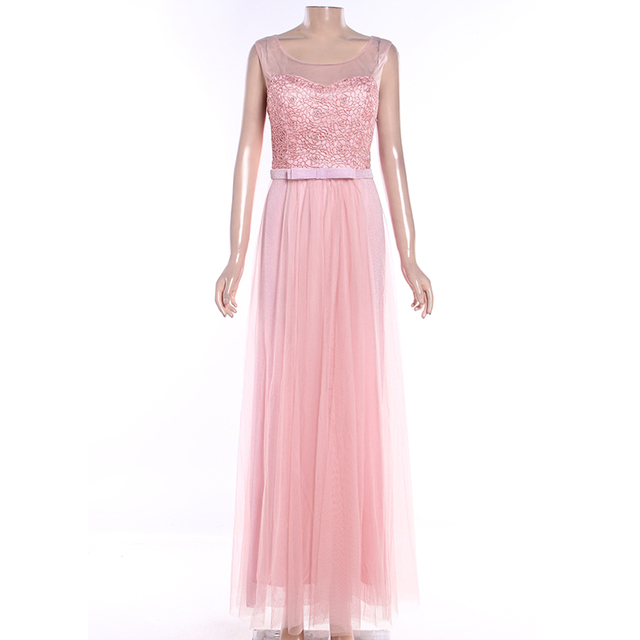 Guangzhou factory wholesale design custom lace bridesmaid dresses long chiffon