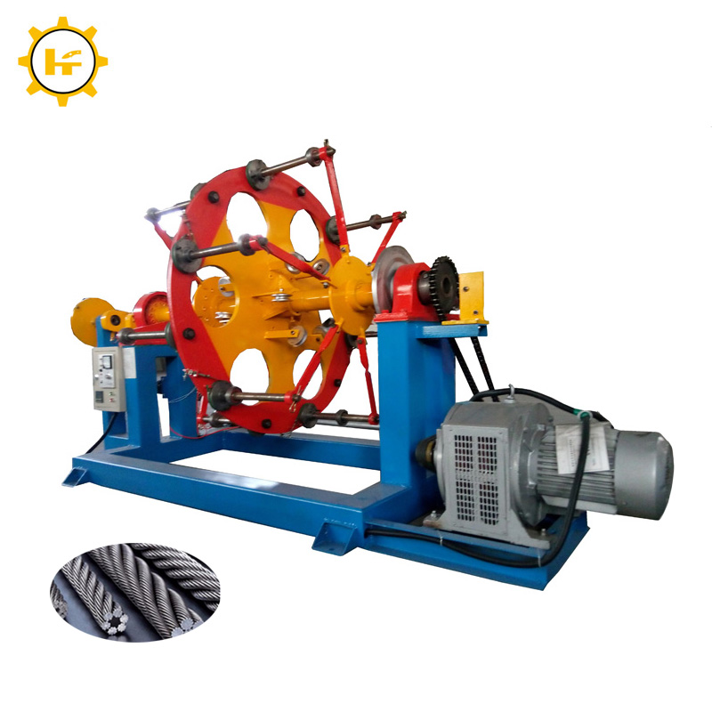 Disc stranding machine or cable making equipment for stranding copper wires for 30 years from China