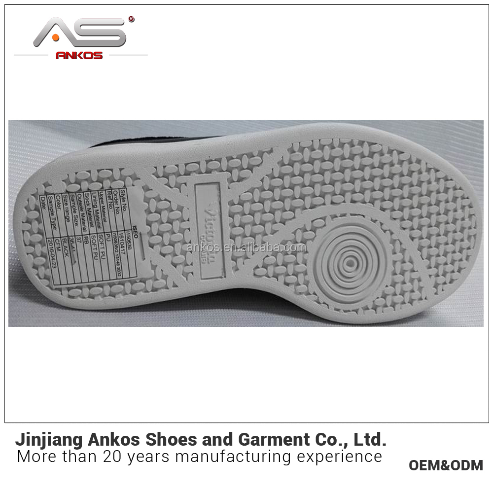 2017 develop new facshion style casual shoes men from jinjiang ankos shoe factory