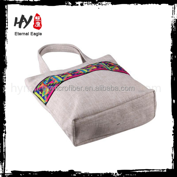 wholesale popular reusable shopping bags canvas tote bag