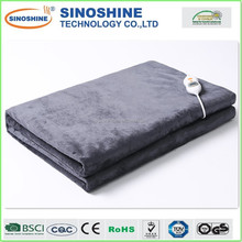 Top-Quality Machine Washable Soften Flannel Double Heating Throw Rug directly Guangdong Factory