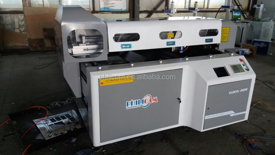 co2 laser 200w machine for cutting metal and no-metal material