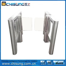 electric library security gate automatic swing gate turnstile door with wide channel