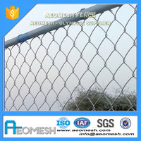 11 Gauge Chain Link Fencing decorative chain link fence used chain link fence for sale