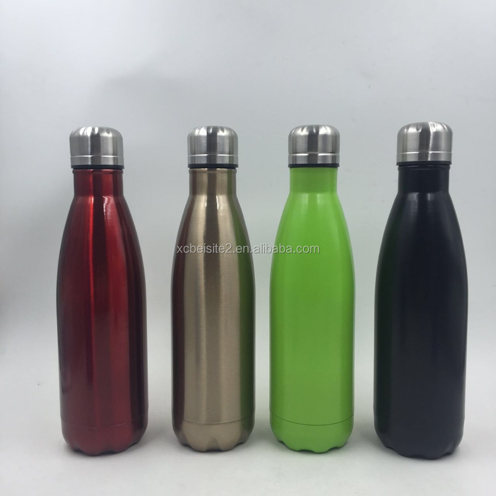 BW-025 stainless steel thermos/stainless steel bullet vacuum flask with pump