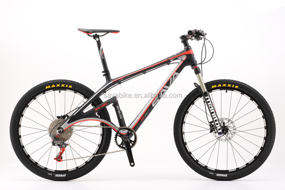 New! 2016 special designed 22 speed carbon fiber mountain bike single-armed man MANITUO FORK MAXXIX TYRE