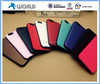 Slide cover card slot TPU cell phone case for iphone 6