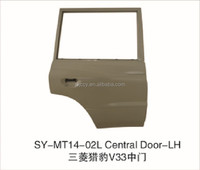 MITSUBISHI PAJERO V33 REAR DOOR FOR MOTOR STEEL PARTS REPLACEMENT